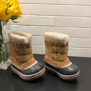 Sorel Toddler Pac Strap boot